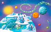 Ice Planet mural