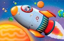 Space Explorer mural