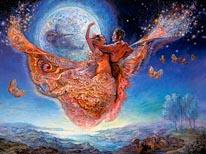 Gypsy Moth mural