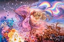 Rainbow Girl 2 mural