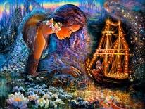 Star Ship mural
