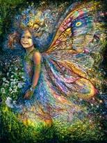 Wood Fairie mural
