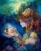 Daughter Of The Deep mural
