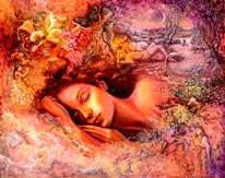 Psyches Dream mural