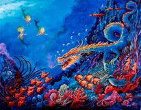 The Sea Dragon mural