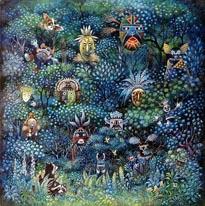 Earth Spirits mural