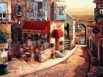 Café Rendezvous mural