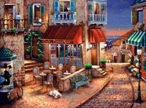 Cafe Romantique 2 mural