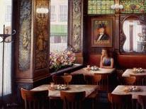 Café LAmour mural