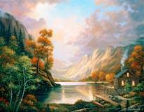 Fall Serene mural