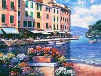 Reflections Of Portofino mural