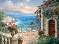 Mediterranean Elegance mural