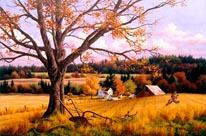 Crisp Fall Day mural