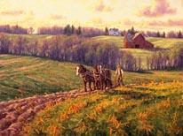 April Field Work mural