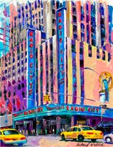Radio City Music Hall mural