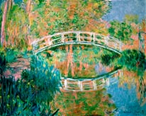 The Japanese Bridge Giverny mural