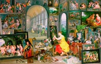 Allegory Of Painting mural