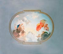 Ceiling Depicting Apotheosis-Full mural