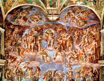 The Last Judgement mural