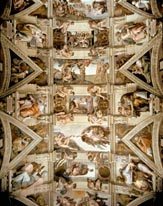Sistine Chapel Ceiling And Lunettes mural