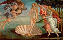 The Birth Of Venus mural
