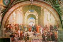 School Of Athens mural