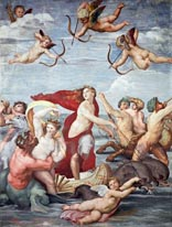 The Triumph Of Galatea mural