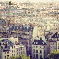 Paris Calling mural