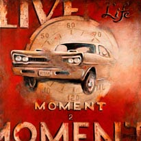 Live Life mural
