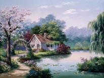 Arbor Cottage mural