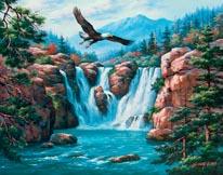 Soaring Eagle mural