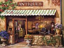 Antique Shop mural