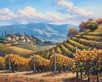 Vineyard Village mural