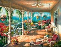Dixies Veranda mural