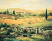 Arno Bridge mural