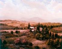 San Gimignano mural