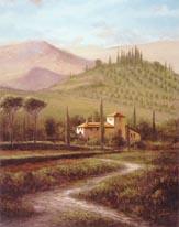 Villa At Stia mural