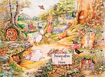 Country Woodlands 2 mural