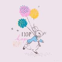 Hop Hop Hop - Line mural