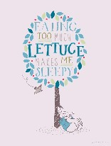 Too Much Lettuce - Peter Rabbit mural