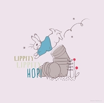 Lippity Lippity Hop mural