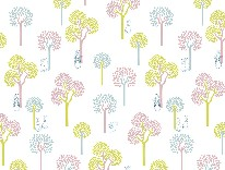 Bunny Trees mural