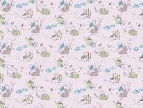 Peter Rabbit's Adventures - Blue mural