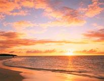 Shoal Bay East At Sunset Anguilla mural