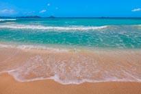 Carribean Gentle Waves mural