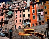 A Cinque Terre Village mural