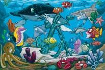 Happy Reef mural
