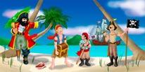 Pirate Island mural