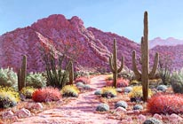 Desert In Bloom mural