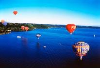 Balloons In Flight mural